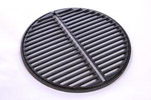 Gietijzeren grillrooster 35 cm diameter tweedelig